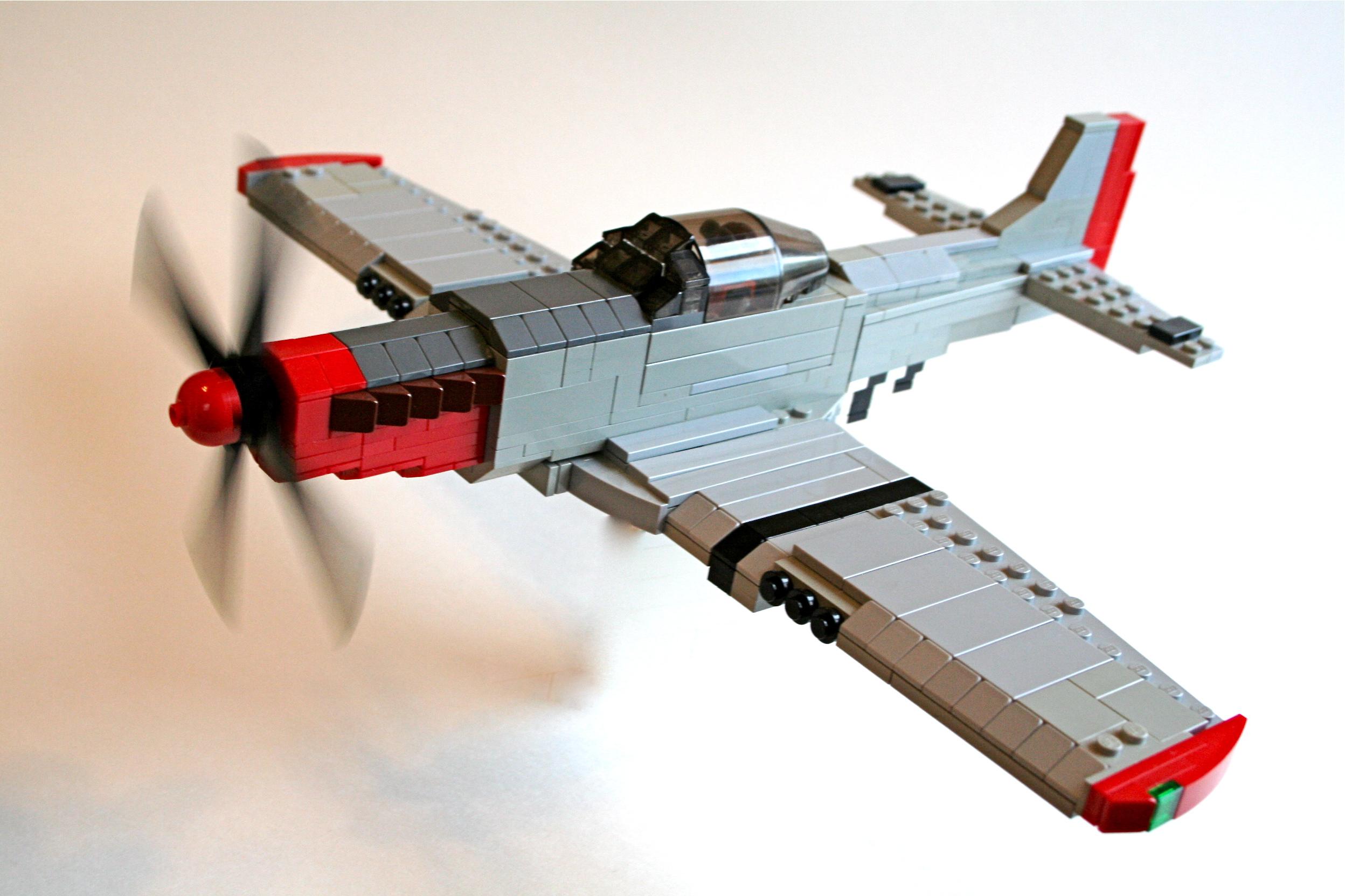 Как сделать из лего самолет истребитель