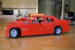 Red Sedan Left