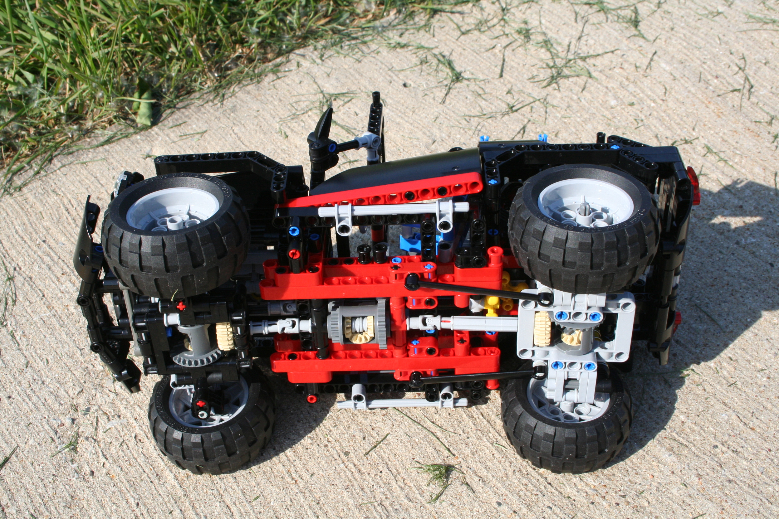 Power Functions 4x4 8081 on first mini cooper