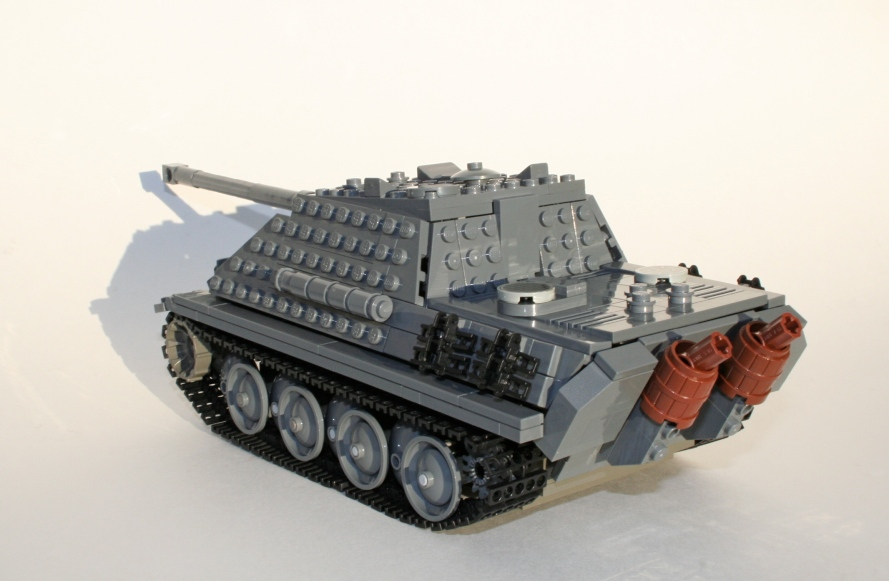 Jagdpanther Rear