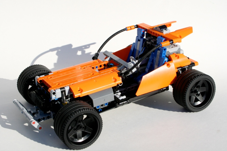 Talon Track Car