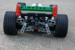 Simple and effective rear suspension.