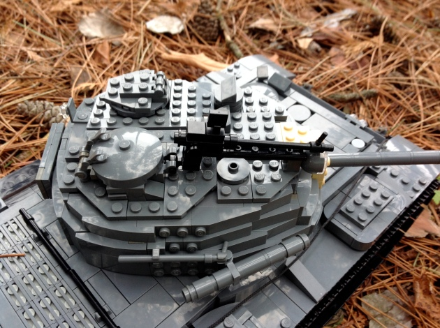 T-55 Turret Detail