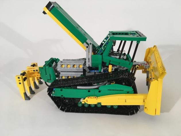Concept John Deere Bulldozer Open